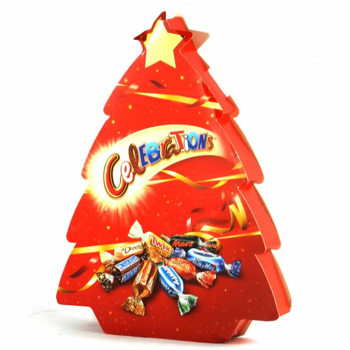Шоколадные конфеты Celebrations Ёлочка, 215 грамм