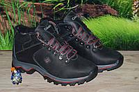 Ботинки подросток кожа М212 качество Columbia размер 35 36 37 38 39
