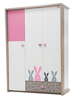 Шкаф распашной в детскую Bunny/Кролик