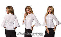 Блуза (42 44 46 48) — коттон  купить оптом и в Розницу в одессе 7км