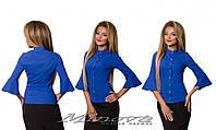Блуза (42 44 46 48) — коттон  от компании Discounter.top