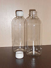 Пластиковая пэт бутылка 500 мл классическая