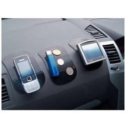 Антискользящий коврик для мобильных устройств CarLife, цвет: черный