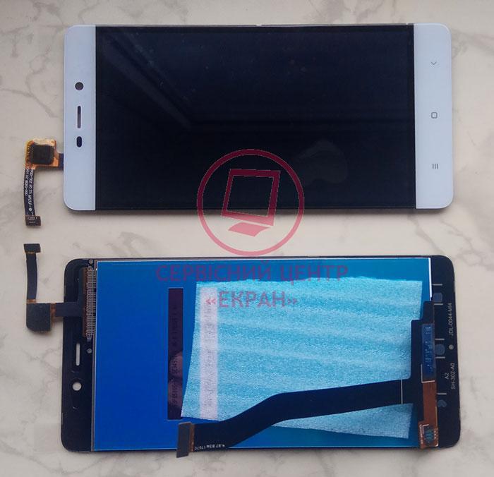 Дисплей модуль для Xiaomi Redmi 4 Pro Prime в зборі з тачскріном, білий