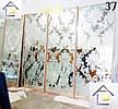 Фасады (двери) купе - раздвижные системы художественное матирование (пескоструй), фото 3