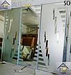 Фасады (двери) купе - раздвижные системы художественное матирование (пескоструй), фото 4