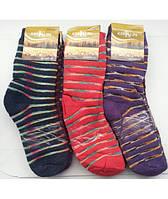 Тёплые женские  носки махра