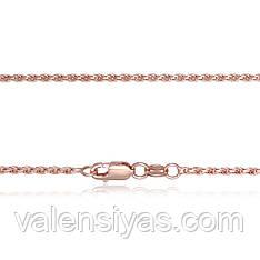 Серебряная цепочка с позолотой 802Б 3