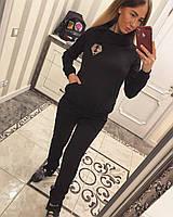 Женский спортивный костюм на меху с худи 33SP152