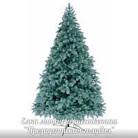 Ёлка, ель искусственная литая 1.8м Президентская (голубая), новогодняя елка, сосна на новый год, искуственная ёлка