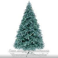Ёлка, ель искусственная литая 2.1м Президентская (голубая), новогодняя елка, сосна на новый год, искуственная ёлка
