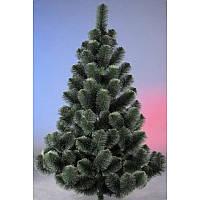 """Сосна искусственная 2.2м """"Белые кончики"""", новогодняя елка, сосна на новый год, искуственная ёлка"""