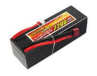 Аккумулятор Dinogy Li-Pol 7200mAh 11.1V 3S 30C Hardcase 41x46x138мм T-Plug