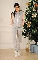 Женский спортивный костюм  (42-44 , 44-46 ) —  трех нитка от компании Discounter.top
