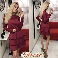 Платье  (S-M, M-L) —трикотаж от компании Discounter.top