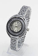 Женские кварцевые наручные часы Swarovski с металлическим ремешком серебристые
