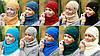 Комплект шапка и шарф , фото 2
