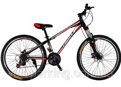 Горный подростковый велосипед Cross Racer 24 (2018) new