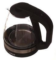 Электрочайник стеклянный Дисковый нагреватель! A-Plus 1,7 л