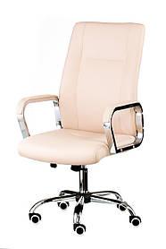 Кресло Marblе bеigе хром (Special4You-ТМ)