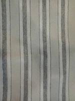 Шарф шерстяной, бежевый в полоску
