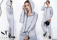Женский спортивный костюм  (42-46) —  трикотаж от компании Discounter.top
