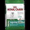 Корм Роял Канін Міні ейджінг Royal Canin Mini Ageing 12+ для дрібних собак старше 12 років 1,5кг