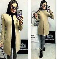 Женское пальто ( 42,44,46,48) —кашемир подкладка на синтепоне от компании Discounter.top