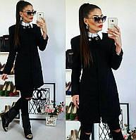 Женское пальто (42,44,46,48,50,52) —кашемир подкладка на синтепоне от компании Discounter.top