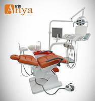 Стоматологическая установка AY-A4800 трехсекционное шовное кресло (нижняя подача)