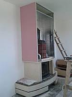 Монтаж мраморных порталов