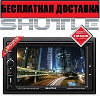 Автомагнитола SHUTTLE SDUD-6960+Камера в подарок