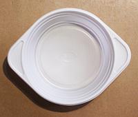 Тарелка одноразовая пластиковая суповая / уп-100 шт.