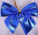 Набор бантиков для декора (12 шт.) - синие, фото 4