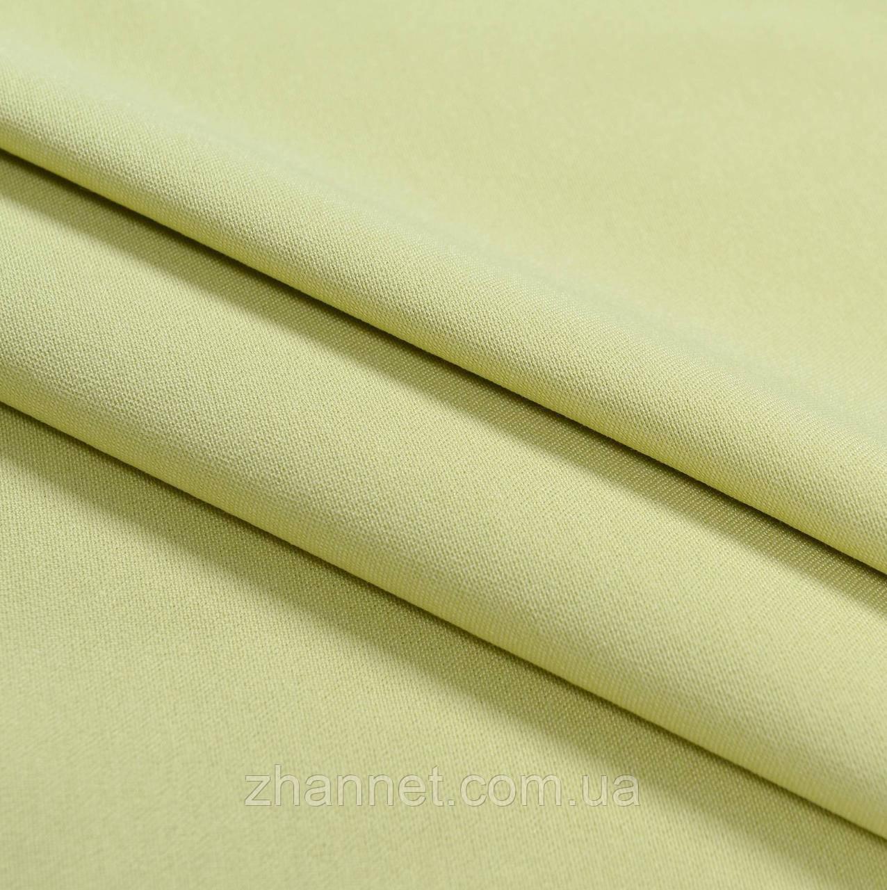 Ткань для штор Kanzas зеленый чай