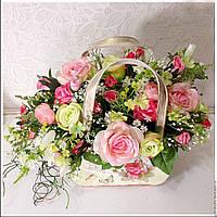 Кашпо  для цветов (3 шт.) металл.