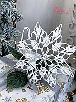 Новогодний декор Снежинка Olemar