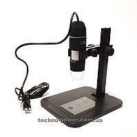 USB микроскоп цифровой 1000Х на штативе