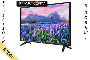 Телевизор LIN 32D1700 Smart TV T2 S2 из Польши 2018 год