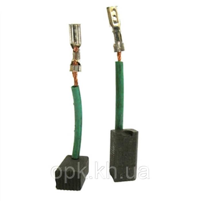 Щетки угольно-графитовые тст-н 6,3*8 мм (контакт - клемма «мама», длина провода - 32 мм, комплект - 2 шт)