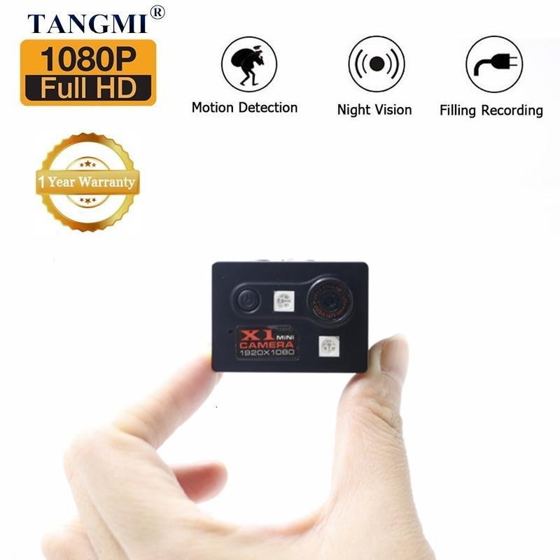 Мини камера Camsoy X1 с датчиком движения и ночной сьемкой