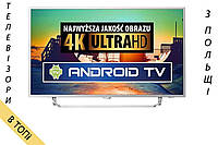 Телевизор PHILIPS 49PUS6412/6432 Android TV Ambilight 4K/UHD 900Hz T2 S2 из Польши