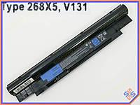 Батарея для ноутбука Dell (H7XW1, JD41Y, N2DN5) Inspiron 13z N311z, 14z N411z, Vostro: V131, V131D series (11.1V 4400mAh). Black.
