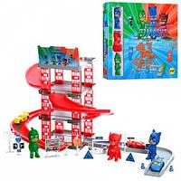Игровой набор Паркинг гараж PJ Masks (Герои в масках) DS019-3A