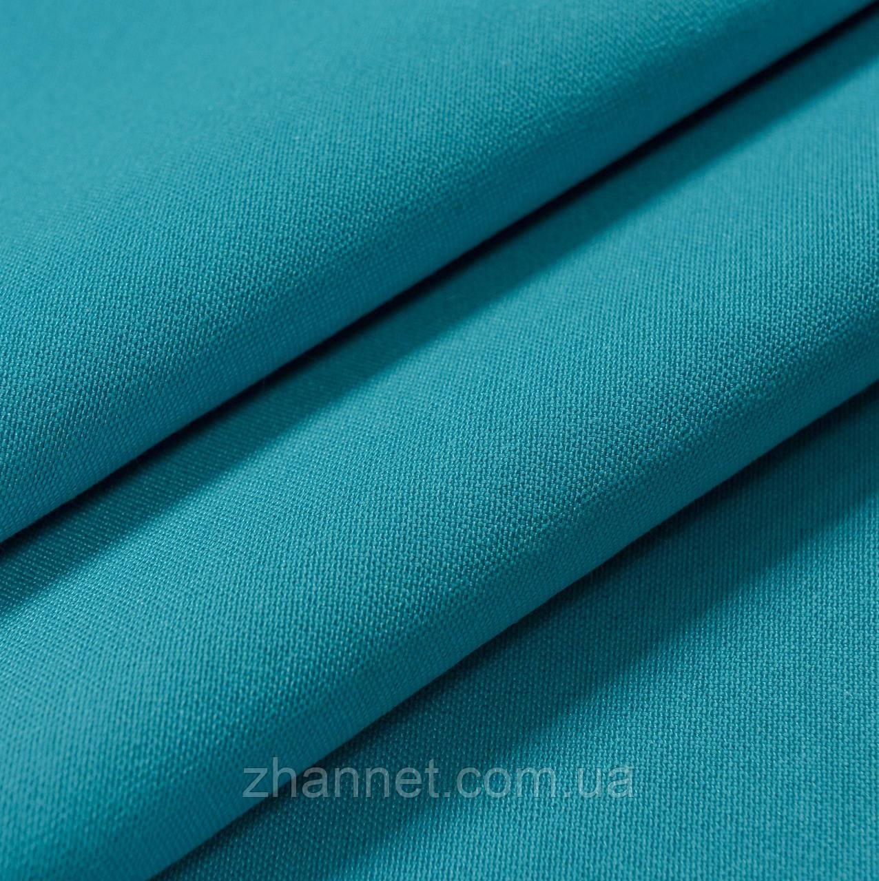 Ткань для штор Kanzas темная бирюза