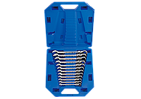 Набор ключей комби с шарниром и трещеткой 12 шт. (8-19мм) кейс King Tony 13012MR