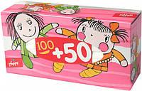 Платочки бум «BELLA» baby happy универсальные 2-слойные короб 100+50 шт
