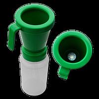 """Стаканчик для застосування препарату """"Oxy Foam"""", зелений"""