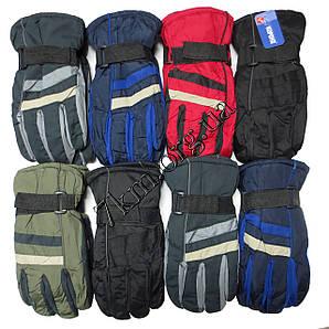 Перчатки подростковые дутики на флисе Корона Оптом 91126