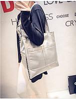 "Женская повседневная сумка ""Сиена Silver"", фото 1"